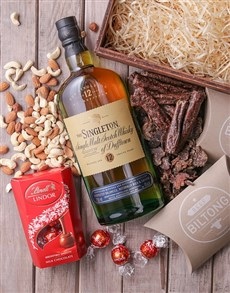 gifts: The Singleton Gourmet Crate!
