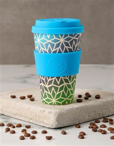 gifts: Blue Ombre Travel Eco Cup!