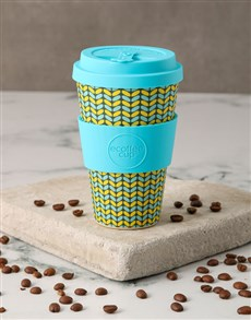 gifts: Patterned Travel Eco Cup!