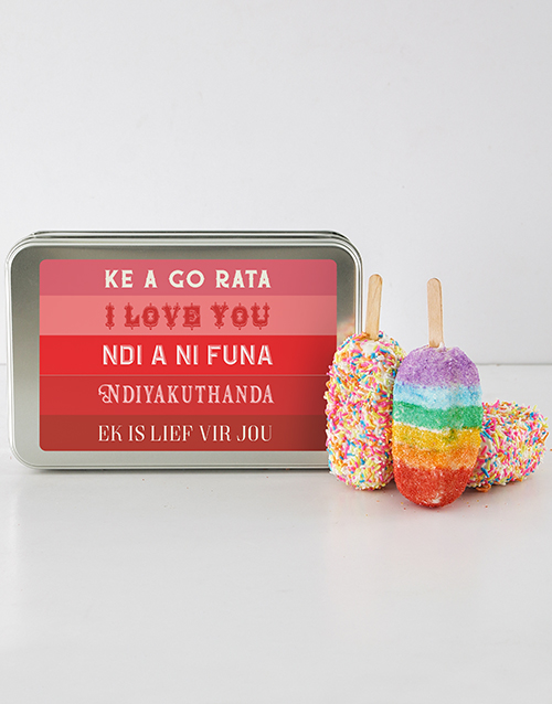 anniversary: I Love You Cakes On A Stick!